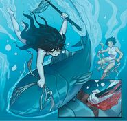 RWBY DC Comics 4 (Chapter 8) Blake kill the big fish