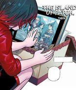 RWBY DC Comics 1 (Chapter 2) Ruby going through Summer's belongings