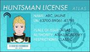 Jaune License
