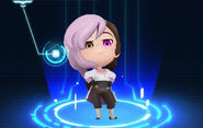 RWBY Crystal Match Neo Politan's default outfit