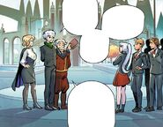 RWBY DC Comics 3 (Chapter 5) Ozpin discusses the students about the prize