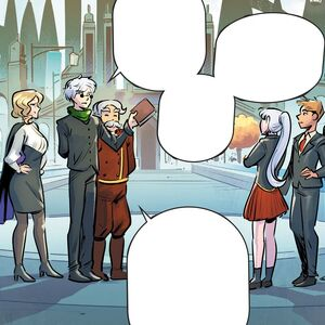 RWBY DC Comics 3 (Chapter 5) Ozpin discusses the students about the prize.jpg