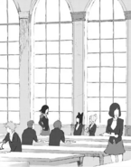 Chapter 9 (2018 manga) Ruby talks to Blake and Weiss about their team plan today