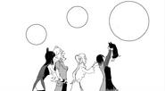 Chapter 14 (2018 manga) Blake asks Yang about Zwei