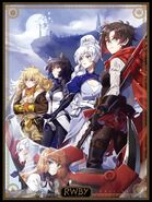 RWBY Volume 8 Japanese DVD Blu-ray cover limited edition