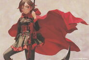 Ruby (RWBY Official Japanese Fanbook, Illustration, Range Murata)