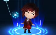 RWBY Crystal Match Ruby Rose's Beacon uniform
