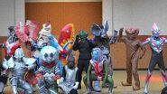 ウルトラマンオーブショー 11大怪獣集合 ウルトラ星人の日 オーブオリジン ウルトラセブン登場 Ultraman orb