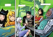 RWBY Justice League 4 (Chapter 8) After escaped from brainwashed allies and citizens