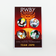 RWBY Vytal Button Pack 2 - Team JNPR
