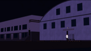 Torchwick outside warehouses
