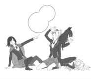 Chapter 9 (2018 manga) Team RWBY after the food fight