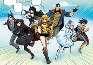 RWBY Justice League 2 (Chapter 4) New Team RWBY start their missions