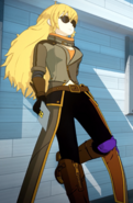 Yang Volume 4 outfit with sunglasses