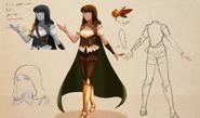 Amber Concept Art