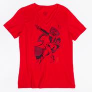 RWBY Manga Pyrrha Nikos Womens V- Neck T-Shirt
