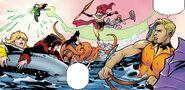 RWBY Justice League 6 (Chapter 12) Arthur saves Team RWBY