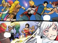 RWBY Justice League 4 (Chapter 8) Team RWBY and Justice League ambushed 02