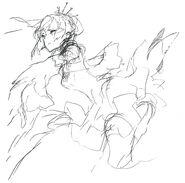 RWBY rough drawing works by Shirow Miwa 07