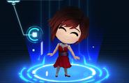 RWBY Crystal Match Ruby Rose's prom dress