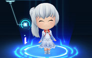RWBY Crystal Match Weiss Schnee's default outfit