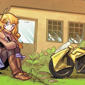 RWBY DC Comics 6 (Chapter 11) Yang spend time with Madame Mallari before she leaves.jpg