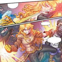 RWBY DC Comics 6 (Chapter 11) Yang versus the Picotee Pirates.jpg