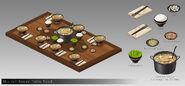 Sana-freeman-rwby-mistral-home-table-food-by-fang-dbvpgmc