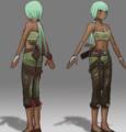 Young Emerald Concept Art