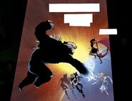 RWBY DC Comics 1 (Chapter 1) Team RWBY fights 02