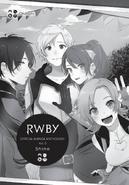 RWBY Manga Anthology Vol. 5 Shine introduction cover