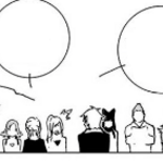 Chapter 2 (2018 manga) Ozpin and Glynda informs the students. about the Beacon Academy Initiation.png