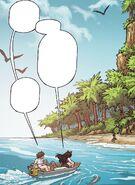 RWBY DC Comics 4 (Chapter 8) Blake and Kali arrive at Azure Island