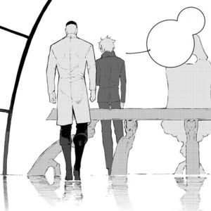 Chapter 14 (2018 manga) Ozpin and Ironwood discussion about Team RWBY.png