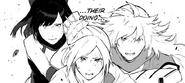 Chapter 19 (2018 manga) Blake and Yang assist Weiss