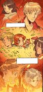RWBY DC Comics 5 (Chapter 10) Ruby thinking about her family and friends