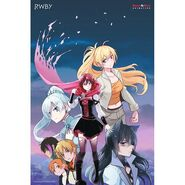 RWBY Vol 5 Heroes Poster