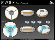Disc-grenade