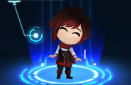 RWBY Crystal Match Ruby Rose's Slayer outfit