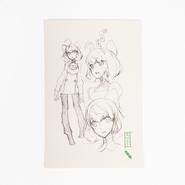 RWBY Limited Edition Penny Polendina Sketch Page Print