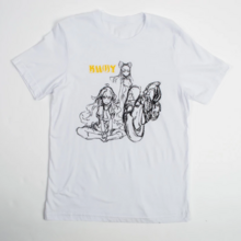 Limited Edition RWBY Blake and Yang Sketch T-Shirt.png