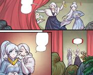 RWBY DC Comics 5 (Chapter 9) Willow give credit to Weiss for capturing a hailstone hind