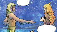 RWBY Justice League 4 (Chapter 7) Yang is hostile toward Arthur
