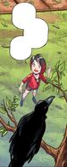 RWBY DC Comics 1 (Chapter 2) Ruby encounters Raven in her bird form