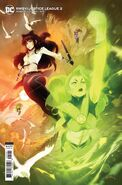 RWBY Justice League 2 variant cover Blake and Jessica