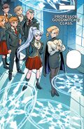 RWBY DC Comics 3 (Chapter 5) Weiss' demostrates her Semblance in Glynda's class
