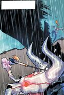 RWBY DC Comics 3 (Chapter 6) Nora took down one of the Manticores