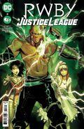 RWBY Justice League 3 cover