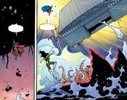 RWBY Justice League 6 (Chapter 12) Clark throw a large building at Starro