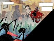 RWBY DC Comics 1 (Chapter 2) Ruby thinks about her mother awhile fighting Lancers 03